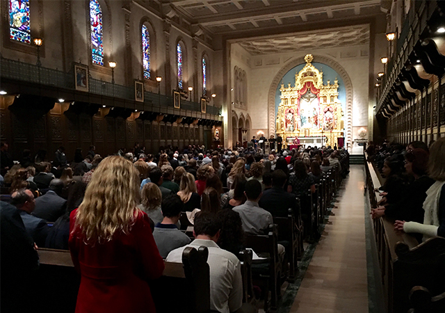 USD Mid-Year Graduation Mass, Dec. 16, 2016