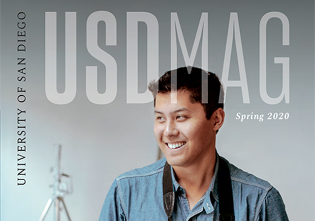 USD Magazine Spring 2020 cover