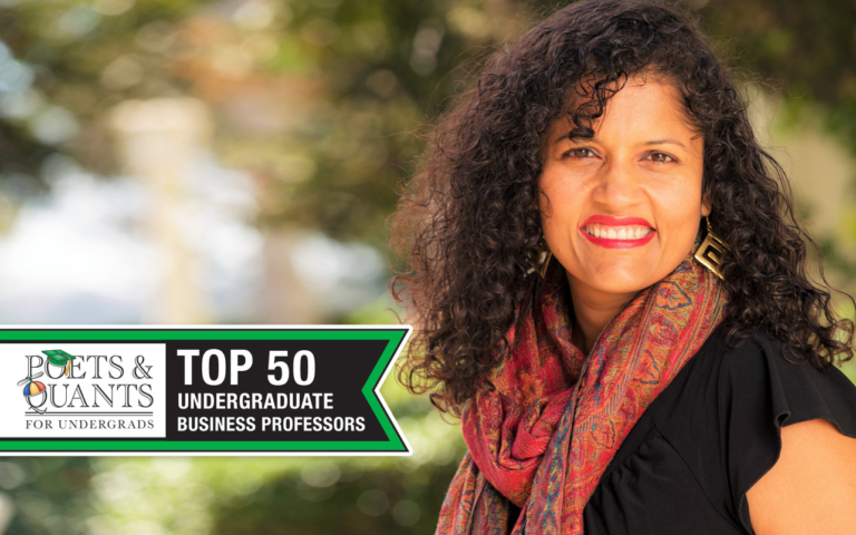 Poets&Quants Top 50 Undergraduate Business Professors