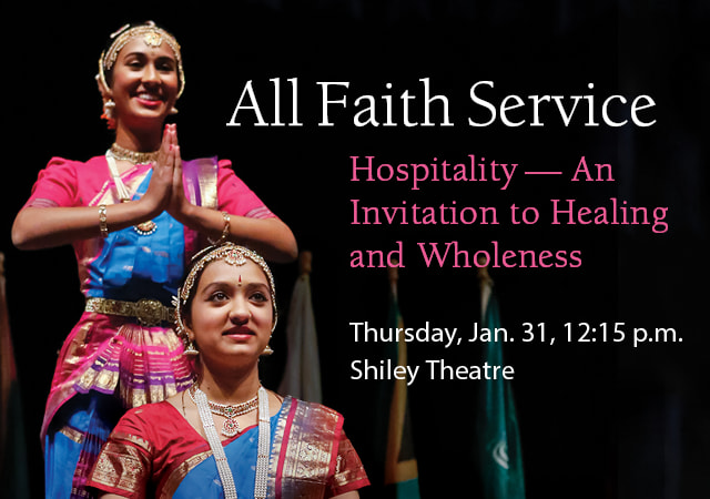 All Faith Service - Hospitality - An Invitation to Healing and Wholeness