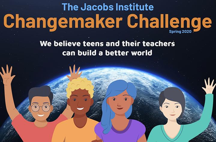 Jacobs Institute Changemaker Challenge Flyer