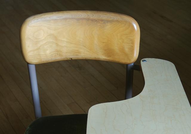 Empty school desk