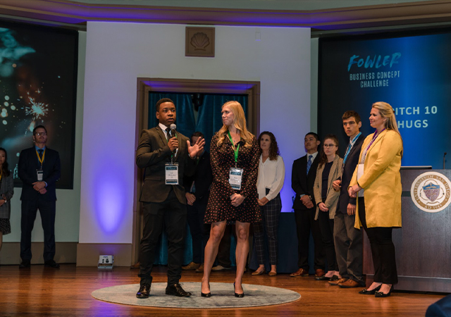 Participants Competing in the Fowler Global Social Innovation Challenge