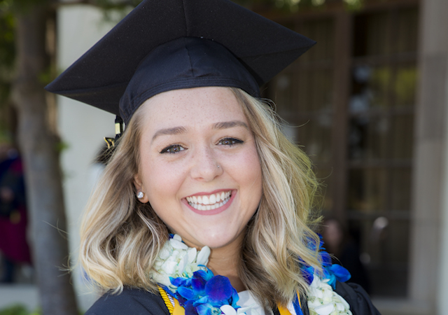 Rachel Lloyd, Valedictorian