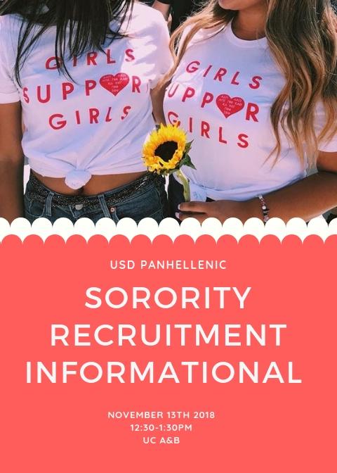Sorority Recruitment Informational