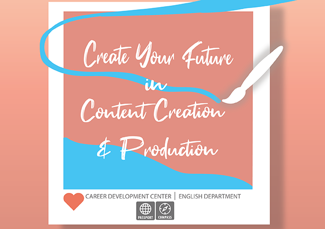 Create Your Future in Content Creation & Production Flyer