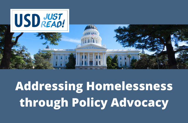 addressing homelessness through policy advocacy