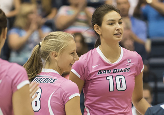 USD Women's Volleyball