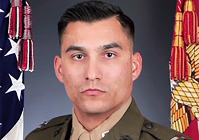 Marine Corps Captain Andrew Blascovich '14 (BA), '20 (MA, LEPSL)