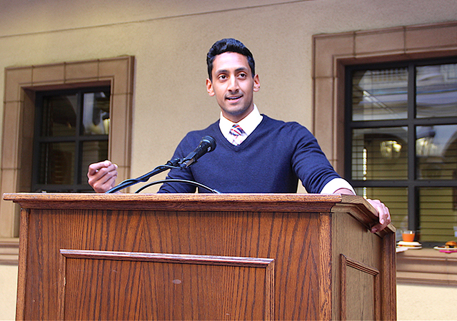 Ray Khan, USD alumnus 2014