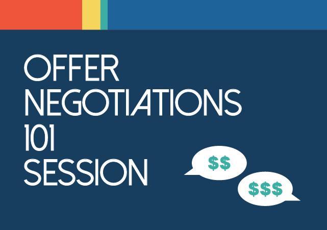 Offer Negotiations 101 Session flyer