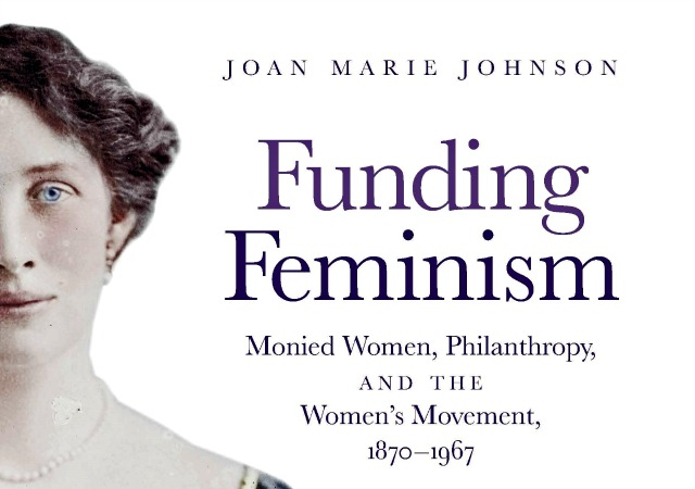 Book cover of Funding Feminism by Joan Marie Johnson