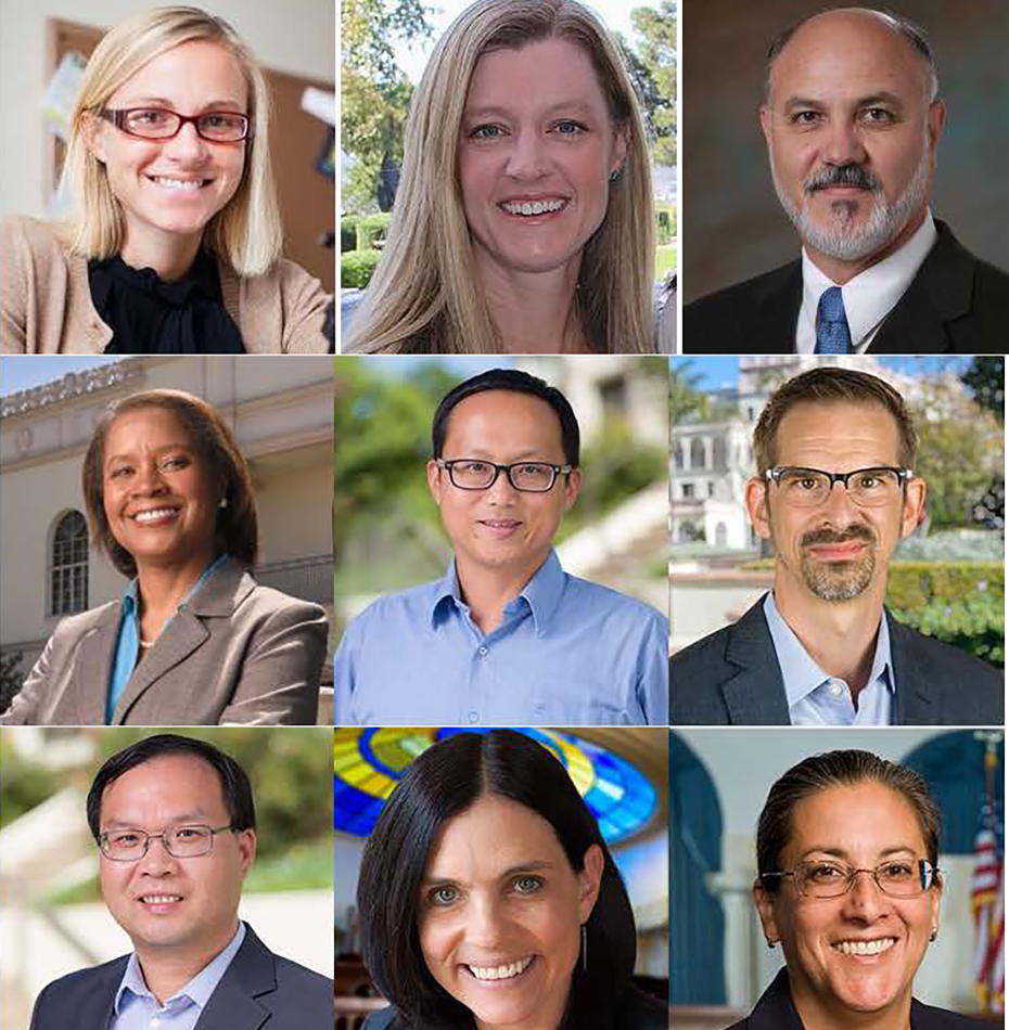 Nine USD faculty members will receive top awards for 2020-21 at the Faculty-Staff Convocation (virtually) on Friday, Sept. 11.