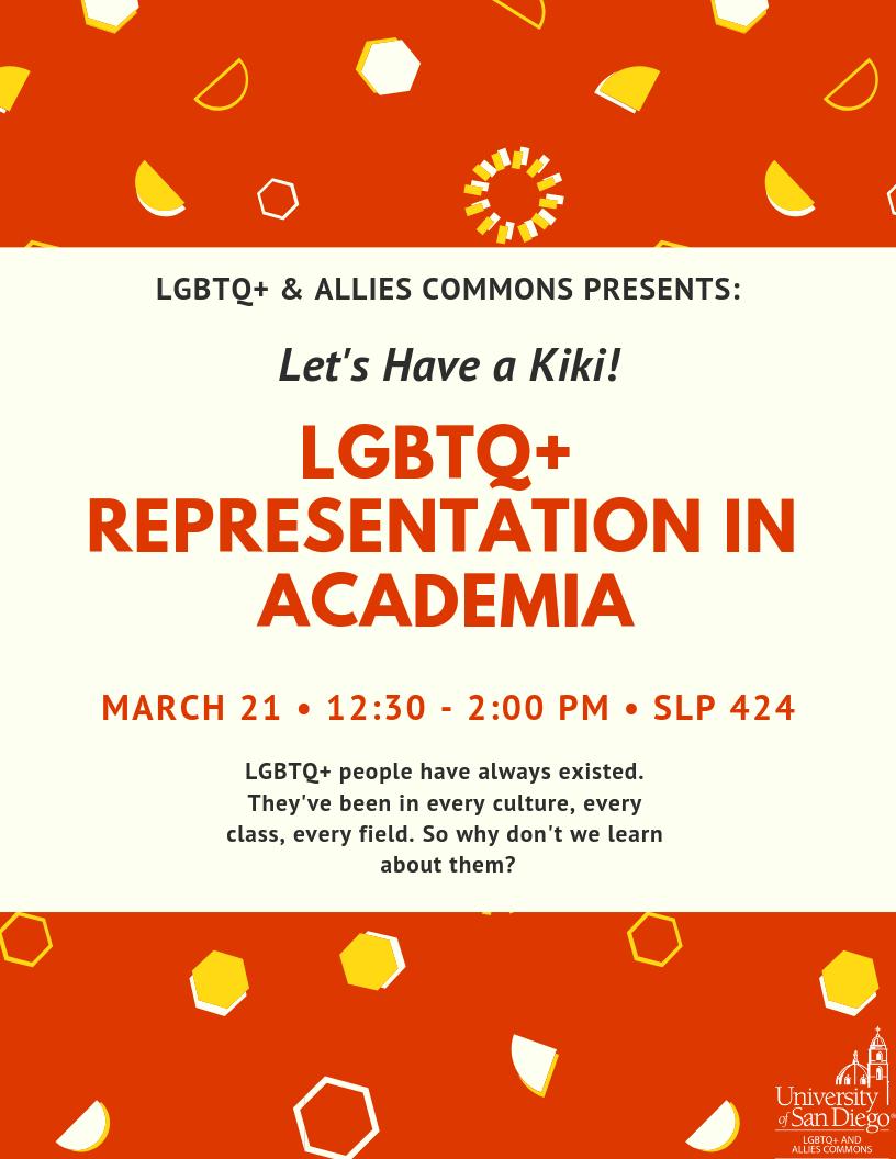 Let's Have a Kiki: LGBTQ+ Representation in Academia