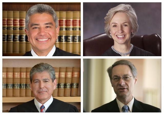 Judges Gutierrez, Mueller, Sabraw and Seeborg