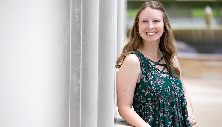 Mary Beth Putz '17 has enjoyed the many connections she's had during her four years at the University of San Diego. She will head to New Mexico to participate in the Jesuit Volunteer Corps program.