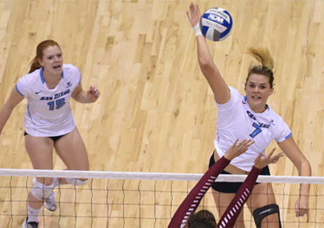 USD Volleyball's Lisa Kramer