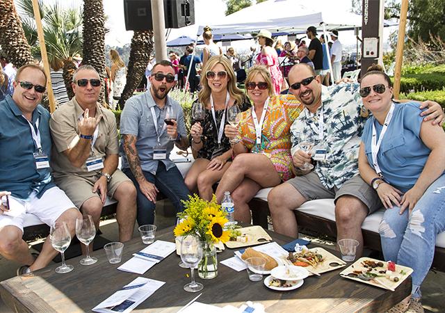 2018 Wine Classic VIP Lounge Group