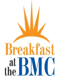 Breakfat at the BMC logo