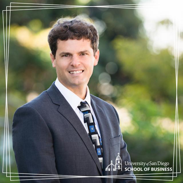 USD Assistant Professor of Real Estate, Jeremy Gabe