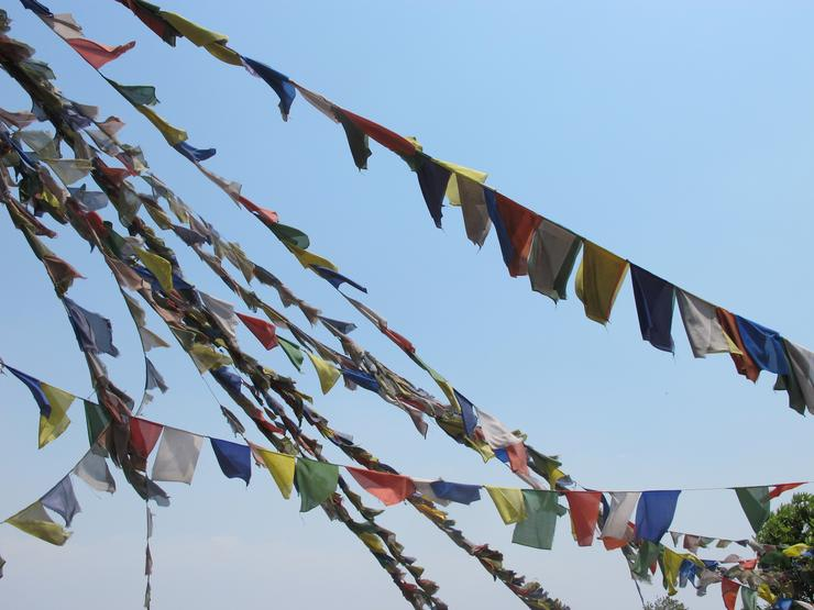 Nepali peace flags