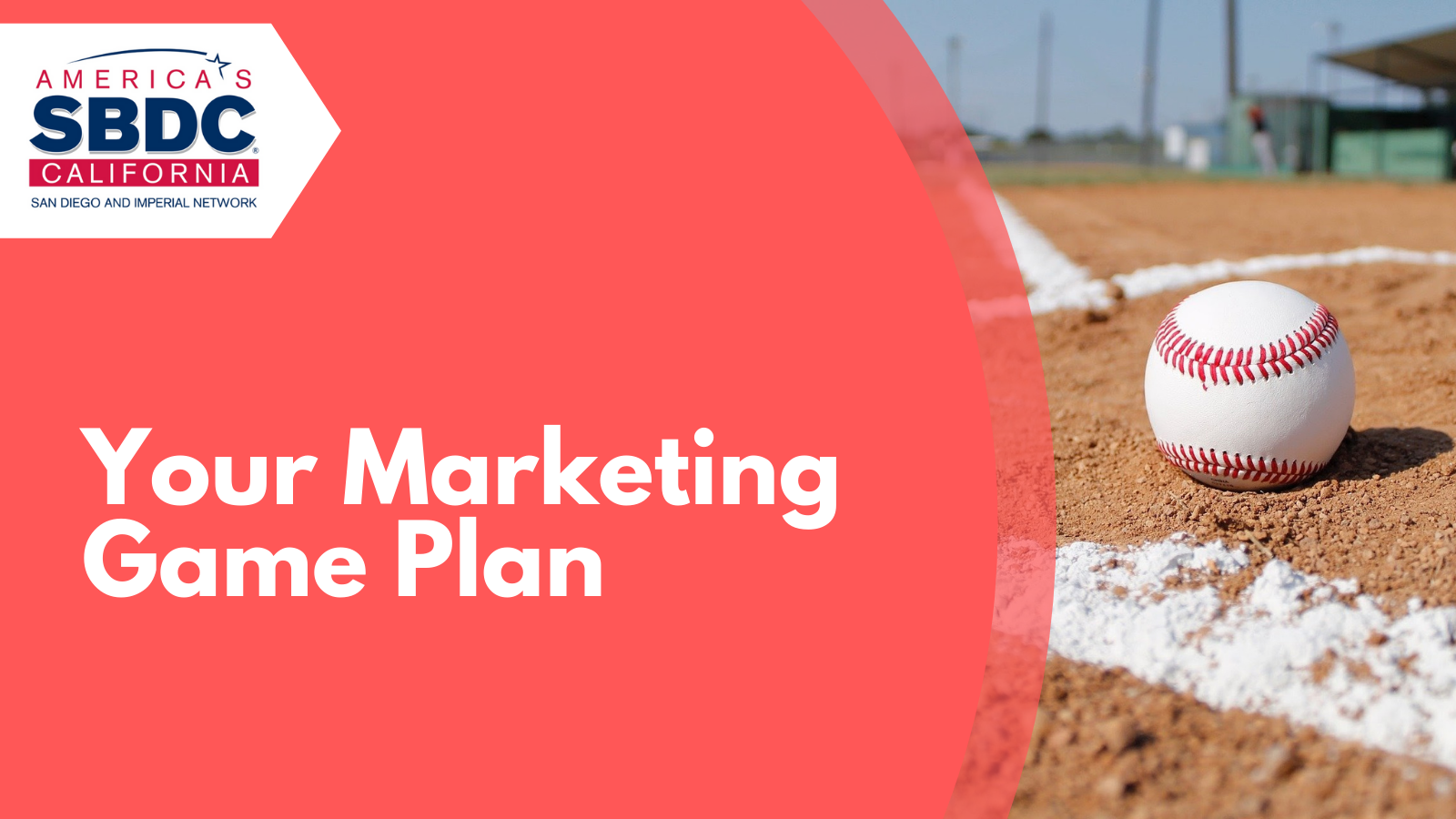 Your Marketing Game Plan Event Graphic