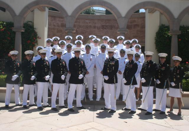 navy and marine officers