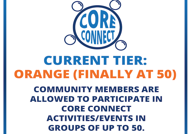 Core Connect Finally at 50 logo