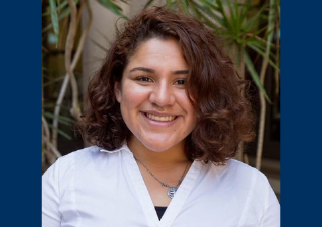 Ariadne Sambrano is a first-generation, transfer student elected to be the Vice President of the Associated Student Government.