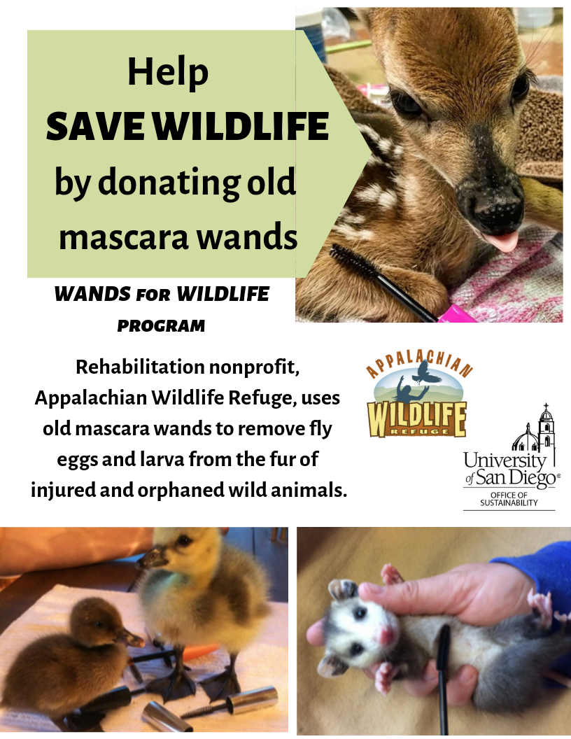 Wands for Wildlife Ad