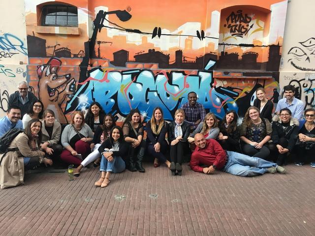 Students in Bogotá