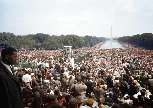 March on Washington; Wednesday, August 28, 1963