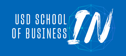 logo of USD School of Business IN virtual workshops app