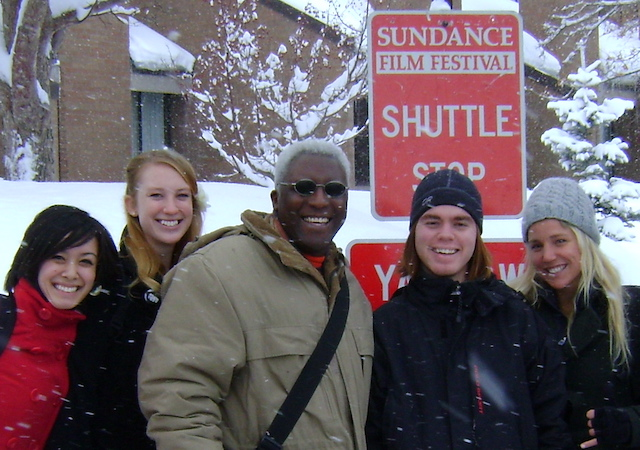 Eric_Pierson_and_Students_at_Sundance