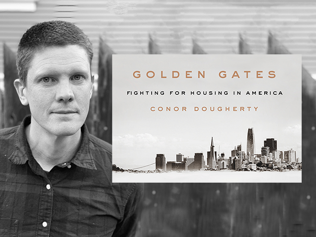 image of the Golden Gates book cover with Conor Dougherty