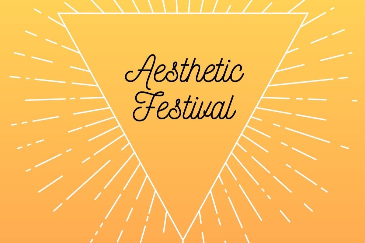 Logo for the Aesthetic Festival