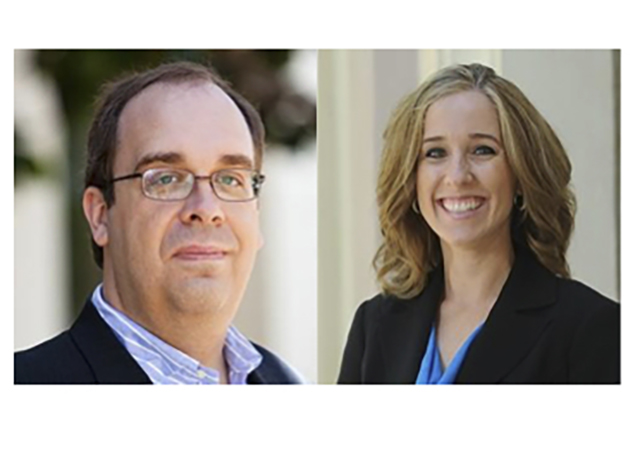 Frank Jacobitz, Danielle Levanetz - IIA winners