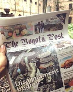 Disarmament Begins - The Bogotá Post
