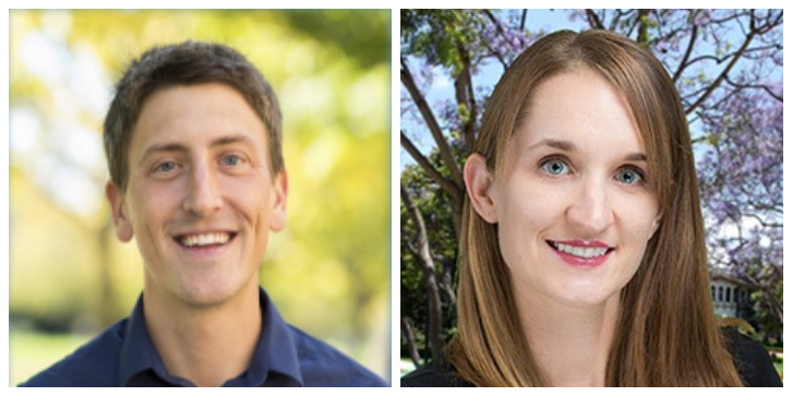 Profile picture of USD professor Dr. Adam Boocher and Dr. Amy Buchmann