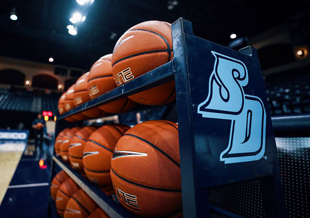 Basketball season starts at home Nov. 28 for USD women's team