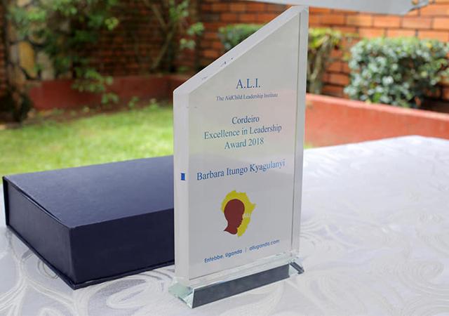 AidChild Institute's Cordeiro Excellence in Leadership Awards