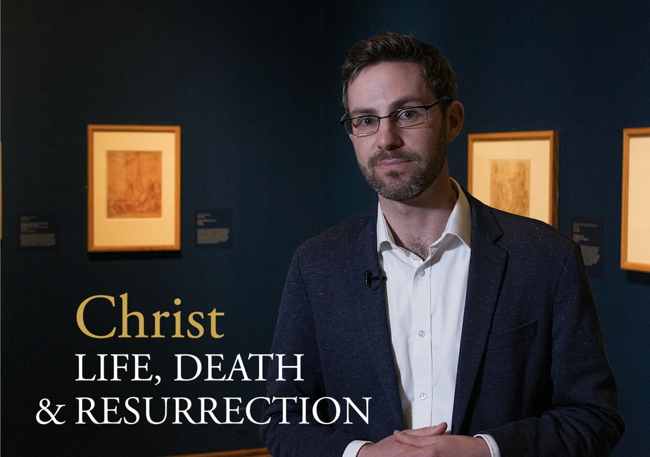 Video thumbnail of John Murphy and the Christ: Life, Death, and Resurrection exhibition