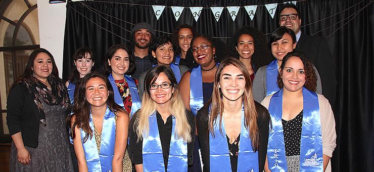 Eleven members of USD's Class of 2017 Ronald E. McNair Scholars program cohort have been accepted either to a master's or PhD program this fall.