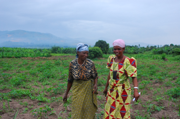 Two Women in Burundi