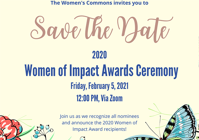 Women of Impact Awards event