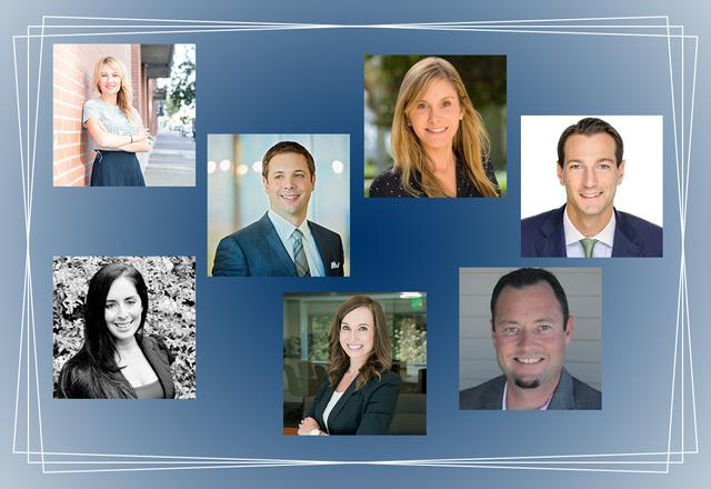 Several USD alumni who are included in the San Diego Business Journal's 2018 Top Business Leaders Under 40 list