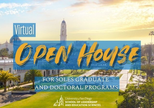 Virtual Open House with Campus Image of Immaculata and Sunrise