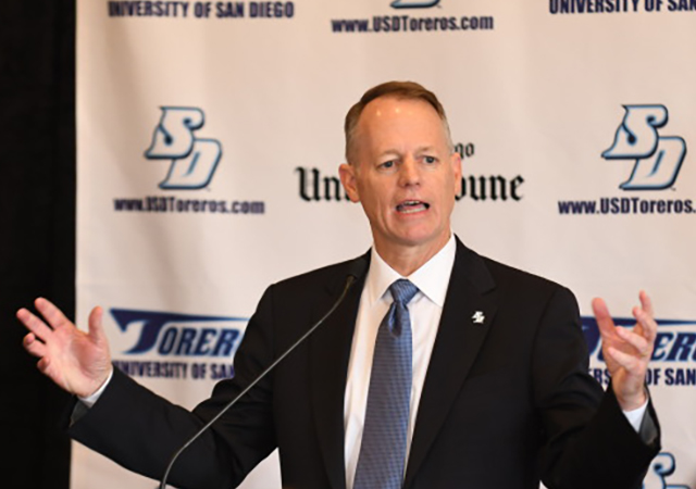 New USD Executive Director of Athletics and AVP Bill McGillis