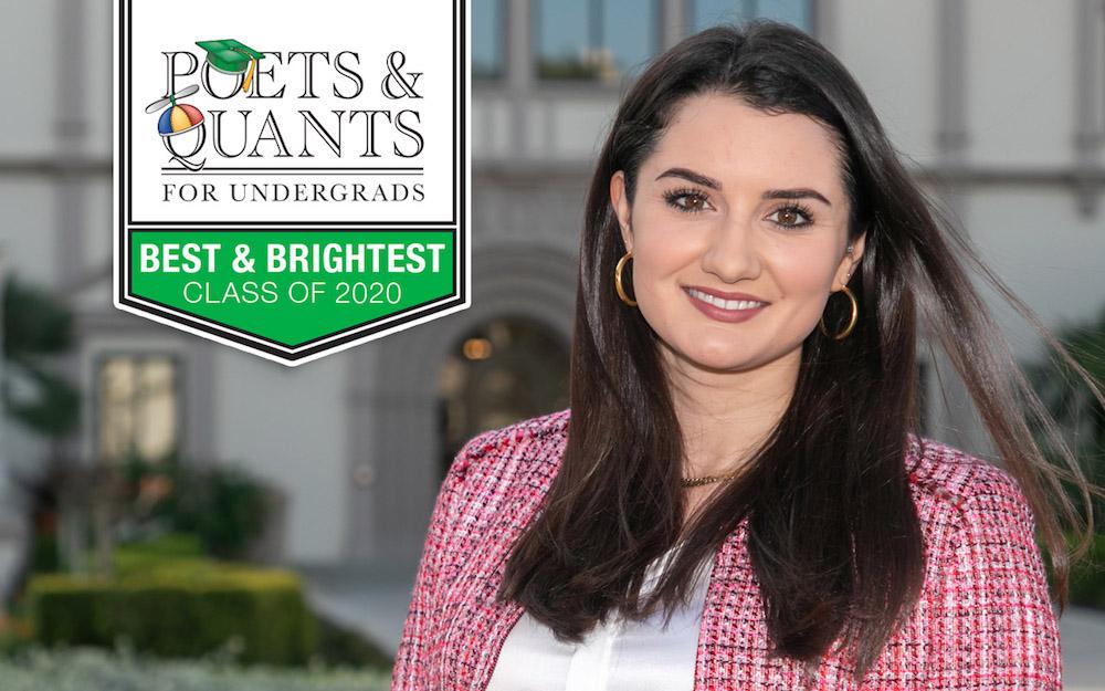 Elizabeth Augusta Longacre, University of San Diego undergraduate international business student