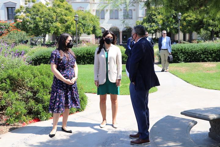 Congresswomen visit USD